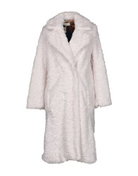 Vicolo Coats And Jackets Faux Furs