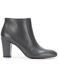 Chie Mihara Huba Heeled Ankle Boots Grey