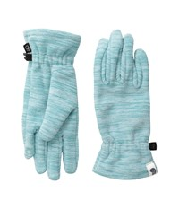 Mountain Hardwear Snowpass Fleece Glove Heather Spruce Blue Extreme Cold Weather Gloves