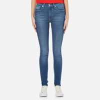 Levi's Women's Mile High Super Skinny Jeans Shut The Front Door Blue