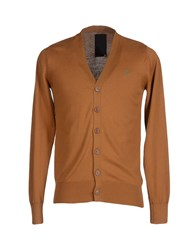 Raw Correct Line By G Star Knitwear Cardigans Men Brown
