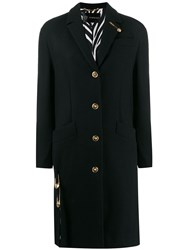 Versace Tailored Coat Black