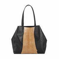 Volver Design Group Bethenny Tote Caramel Ostrich