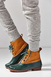 Bass Danielle Duck Boot Green