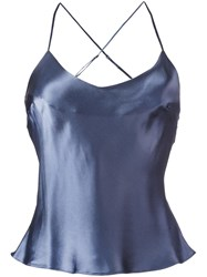 Gilda And Pearl 'Hour Before Dawn' Camisole Blue
