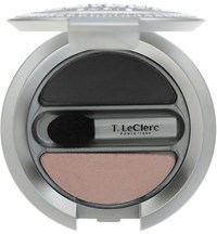 T. Leclerc Eyeshadow Duo Rose And Charbon Colorless