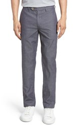 Ted Baker Men's London Shiresy Slim Fit Trousers Grey
