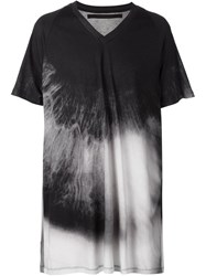 Julius Tie Dye T Shirt Black