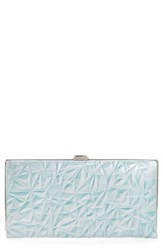 Lodis Women's Quinn Clutch Wallet Blue Sky