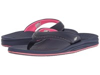 New Balance Renew Thong Navy Pink Women's Sandals
