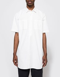 Our Legacy Popover Ss Shirt Coat White