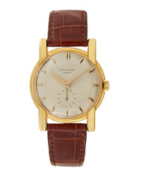 Goodman's Vintage Watches Patek Philippe 18K Yellow Gold Round Dress Watch C. 1950S