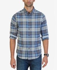 Nautica Men's Delft Plaid Shirt