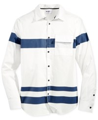 William Rast Men's Baxtor Shirt White