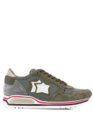 Atlantic Stars Star Patch Sneakers Green