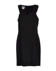 Germano Zama Knee Length Dresses Black