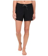 4 Way Stretch Boardshorts Speedo Black Women's Swimwear