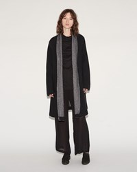 Lost And Found Raw Cut Coat Black Reverse
