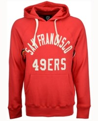 G3 Sports Men's San Francisco 49Ers Hands High Motion Pull Over Hoodie Red