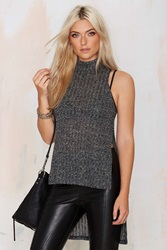 Nasty Gal Joy Division Asymmetric Sweater Top