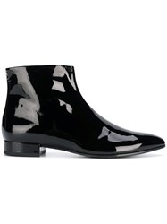 Stella Luna Side Zip Ankle Boots Black