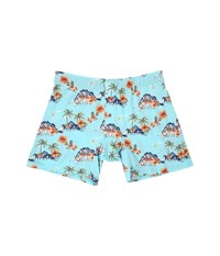 Tommy Bahama Printed Cotton Modal Jersey Boxer Brief Hula Girls Blue Combo Men's Underwear
