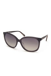 M Missoni Women's Wayfarer Acetate Frame Sunglasses Gray