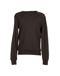 Junk De Luxe Knitwear Jumpers Men Military Green