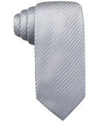 Countess Mara Textured Solid Tie Silver