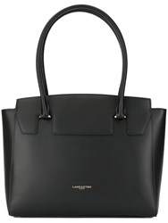 Lancaster Camelia Smooth Large Tote Black