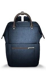 Briggs And Riley Men's Kinzie Street Backpack Blue Navy