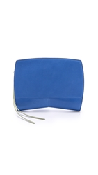 Narciso Rodriguez Gia Clutch Sapphire Opal