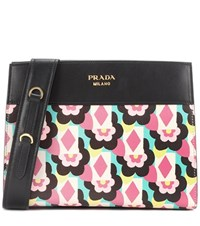 Prada Esplanade Leather Crossbody Multicoloured