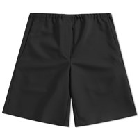 Acne Studios Ari Wool Drawstring Short Black