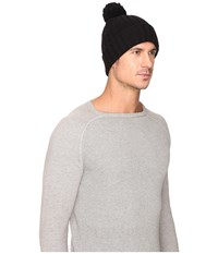Ugg Ribbed Cuff Hat Black Beanies