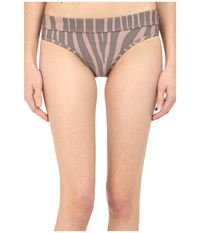 Adidas By Stella Mccartney Swim Briefs Cover Up Ao2841 Smoked Pink Smoked Mystery F10 Women's Swimwear Gray