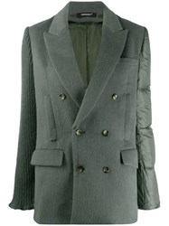 Undercover Quilted Panel Double Breasted Jacket 60