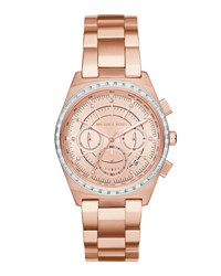Michael Michael Kors 38Mm Vail Chronograph Watch Pink