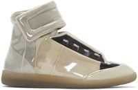 Maison Martin Margiela Transparent Vinyl Future High Top Sneakers