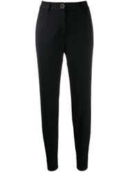 Dolce And Gabbana Skinny Cropped Trousers Black