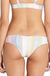 Billabong Women's Desert Dream Hawaii Lo Bikini Bottoms White Multi