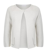 Fabiana Filippi Chunky Knit Cardigan Female Grey