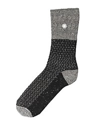 Ugg Ribbed Stripe Socks Black