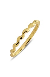 Bony Levy 14K Gold Stackable Twist Ring Limited Edition Nordstrom Exclusive Yellow Gold