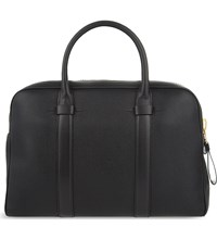 Tom Ford Buckley Small Leather Briefcase Black