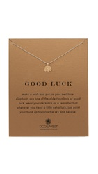 Dogeared Good Luck Charm Necklace Gold