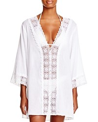 Lablanca La Blanca Island Fare Tunic Swim Cover Up White