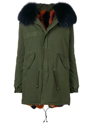 Mr And Mrs Italy Reversible Parka Green