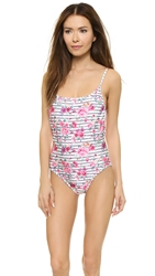 Wildfox Couture So 90S Swimsuit Floral