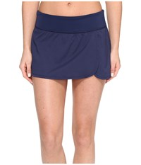 Nike Core Solid Seperates Swim Boardskirt Midnight Navy Women's Swimwear Blue